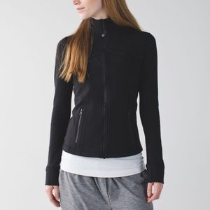 Lululemon define zip up jacket black size 6